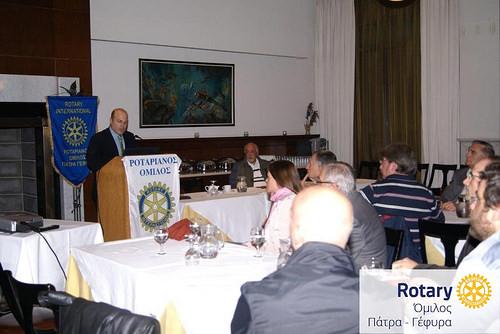 """Ομιλία Δρ. Αλέξανδρου Σπυριδωνίδη: «Kέντρo Εθελοντών Δοτών Μυελού Οστών Πανεπιστημίου Πατρών (ΚΕΔΜΟΠ)- """"Χάρισε Ζωή""""»"""