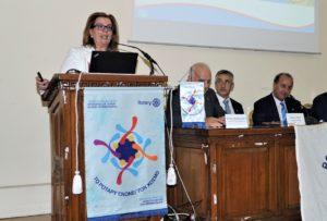 Η πρώην Διοικήτρια (2008-2009) Μάρη Δεληβοριά